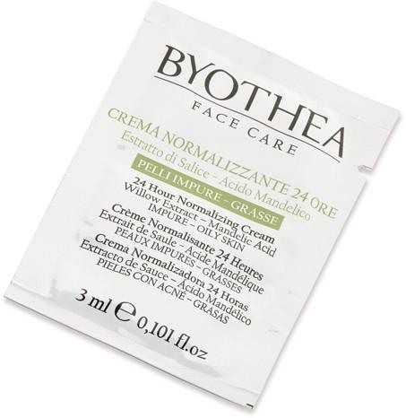 Нормализующий крем 24 часа для жирной кожи - Byothea Normalizing Cream 24 Hours For Oily Skin (пробник)