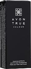 Духи, Парфюмерия, косметика Матовый тональный крем для лица - Avon True Colour Calming Effects Mattifying Foundation
