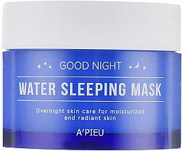Духи, Парфюмерия, косметика Увлажняющая ночная маска - A'pieu Good Night Water Sleeping Mask