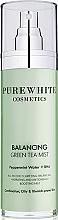 Духи, Парфюмерия, косметика Спрей для лица - Pure White Cosmetics Balancing Green Tea Mist