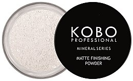 Духи, Парфюмерия, косметика Минеральная пудра для лица - Kobo Professional Mineral Series Matte Finishing Powder