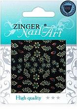Духи, Парфюмерия, косметика Наклейки для дизайна ногтей, fda-180 - Zinger Nail Art Sticker