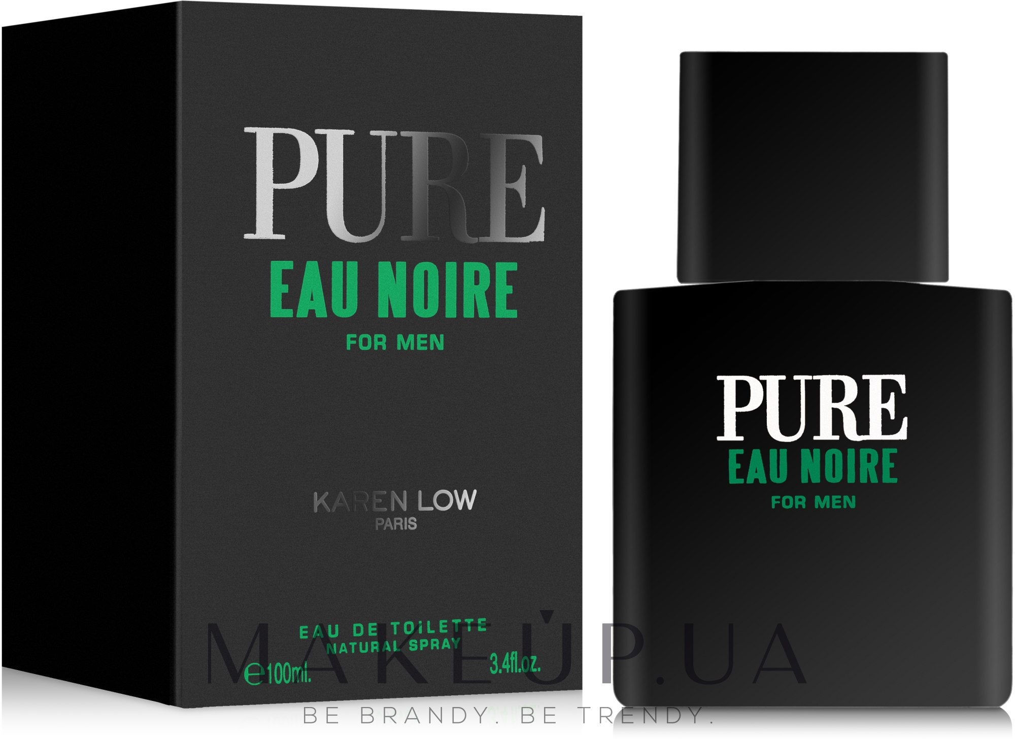 Karen Low Pure Eau Noire - Туалетная вода — фото 100ml