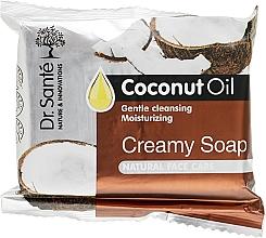 Духи, Парфюмерия, косметика Крем-мыло с маслом кокоса для лица - Dr.Sante Cream Soap