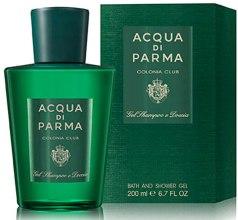 Духи, Парфюмерия, косметика Acqua Di Parma Colonia Club Hair & Shower Gel - Гель для душа для волос и тела