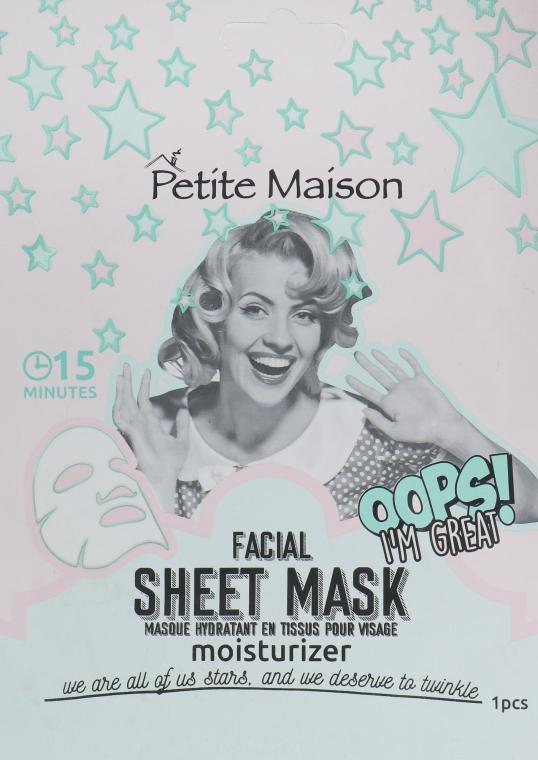 Увлажняющая маска-патч для лица - Petite Maison Facial Sheet Mask