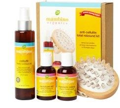 Духи, Парфюмерия, косметика Набор против целлюлита - Mambino Organics Anti-cellulite Total Rebound Kit (cr/gel/60ml + b/oil/150ml + b/oil/60ml + massager/1)