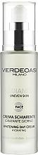 Духи, Парфюмерия, косметика Отбеливающий дневной крем с эффектом увлажнения - Verdeoasi Radiance Whitening Day Cream Hydrating