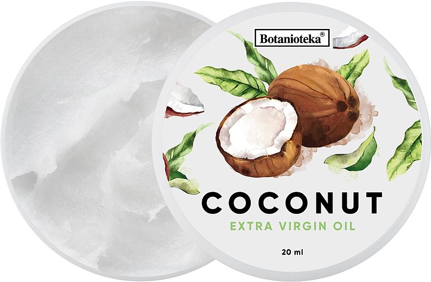 Кокосовое масло натуральное для волос и тела - Botanioteka Coconut Oil Extra Virgin