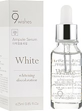 Духи, Парфюмерия, косметика Сыворотка для осветления пигметаци - 9 Wishes Miracle White Ampule Serum
