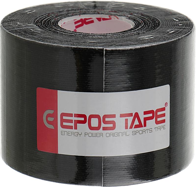 """Кинезио тейп """"Черный"""" - Epos Tape Original"""