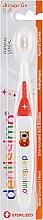 Духи, Парфюмерия, косметика Зубная щетка для детей от 6 лет, оранжевая - Dentissimo Junior