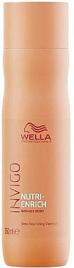 Шампунь с ягодами годжи, питательный - Wella Professionals Invigo Nutri-Enrich Deep Nourishing Shampoo