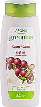 "Духи, Парфюмерия, косметика Крем-гель для душа ""Каму-Каму"" - Aroma Greenline Yoghurt Shower Cream Camu-Camu"