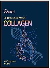 Духи, Парфюмерия, косметика Лифтинг-маска для лица с коллагеном - Quret Lifting Care Mask Collagen