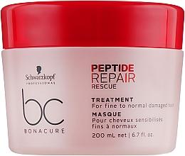 Духи, Парфюмерия, косметика РАСПРОДАЖА! Восстанавливающая маска - Schwarzkopf Professional BC Repair Rescue PeptideTreatment