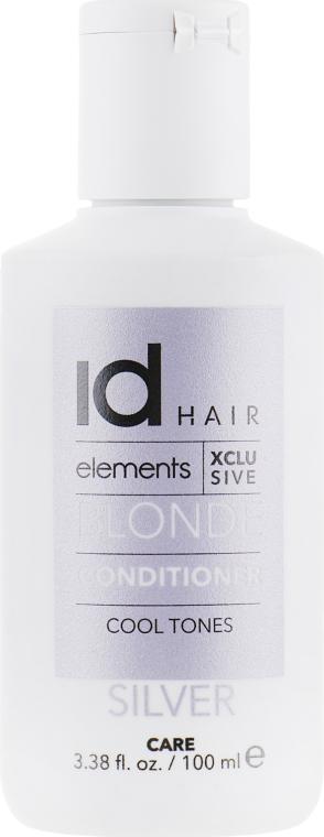 Кондиционер для осветленных и блондированных волос - idHair Elements XCLS Blonde Silver Conditioner