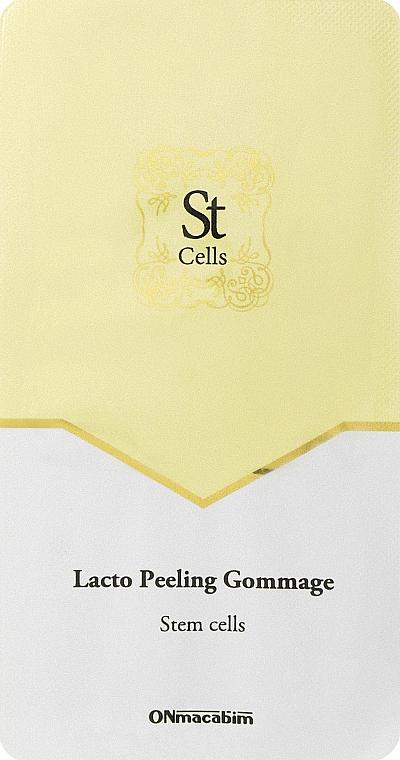 Лакто пилинг-гомаж - Onmacabim St Cells Lacto Peeling Gommage (пробник)