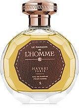 Духи, Парфюмерия, косметика Hayari Parfums Le Paradis de L'Homme - Парфюмированная вода