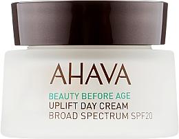 Духи, Парфюмерия, косметика Лифтинговый дневной крем широкого спектра SPF20 - Ahava Beauty Before Age Uplifting Day Cream SPF20