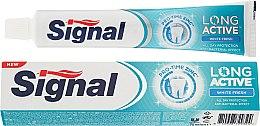 Духи, Парфюмерия, косметика Отбеливающая зубная паста - Signal Long Active White Fresh Toothpaste