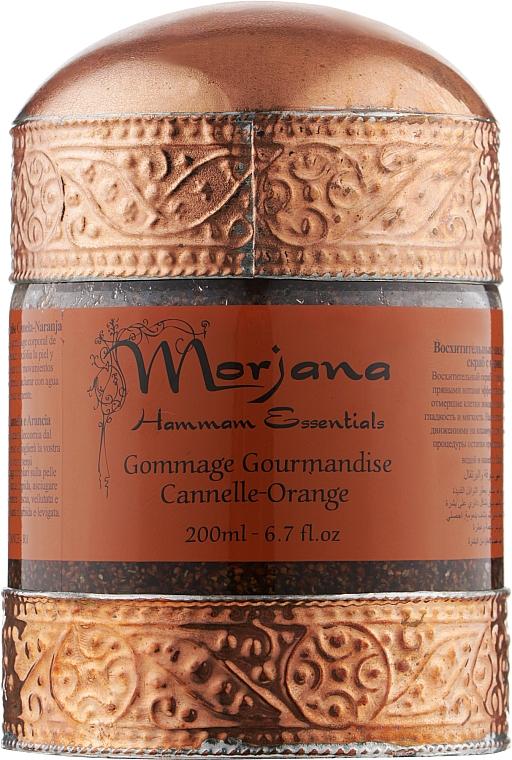 Скраб с апельсином и корицей - Morjana Hammam Essentials Delicious Scrub-Cinnamon Orange