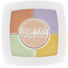 Духи, Парфюмерия, косметика Палетка кремовых корректоров - MUA Pro-Base Prime & Conceal Palette