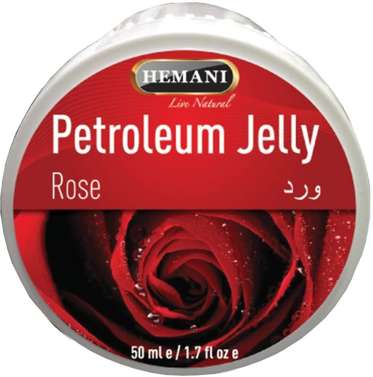 Вазелин с розой - Hemani Petroleum Jelly With Rose