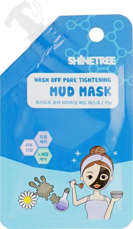 Маска для лица грязевая для сужения пор - Shinetree Soft Mud Mask