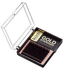 Духи, Парфюмерия, косметика Накладные ресницы Gold Standart D 0.07 (6 рядов: 13 мм) - Kodi Professional