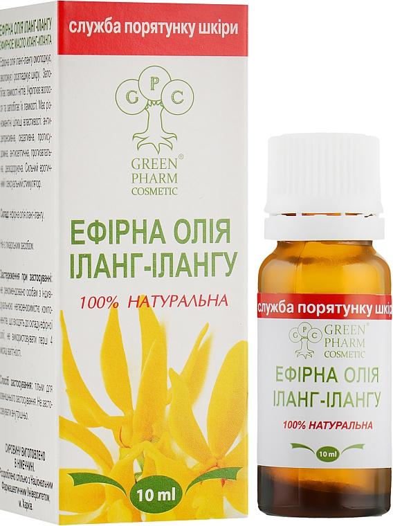 Эфирное масло иланг-иланга - Green Pharm Cosmetic