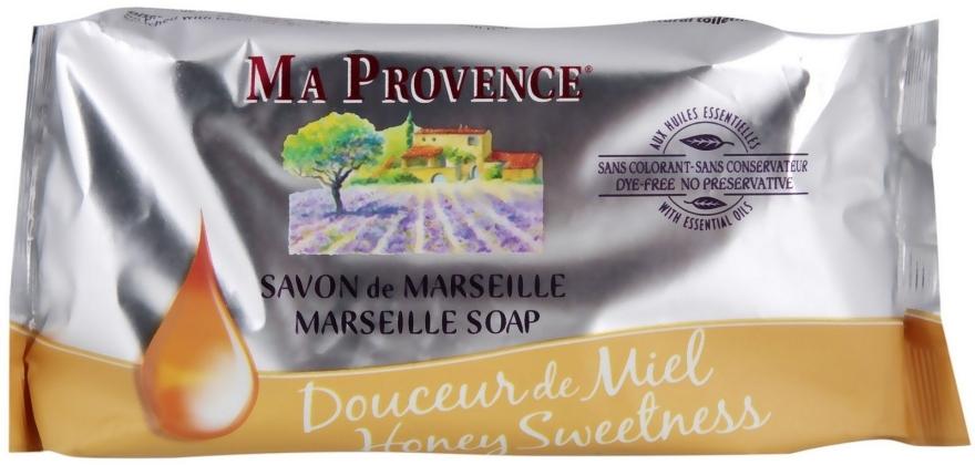 Марсельское мыло Сладкий Мёд - Ma Provence Marseille Soap