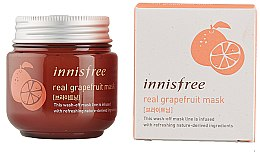 Духи, Парфюмерия, косметика Маска для лица - Innisfree Real Grapefruit Mask