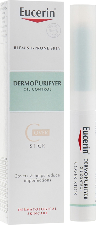 Карандаш-корректор с маскирующим эффектом - Eucerin DermoPurifyer Cover Stick