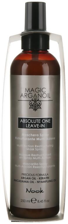 Маска-спрей мультиактивная - Nook Magic Arganoil Absolute One Leave-In