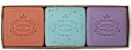 Духи, Парфюмерия, косметика Набор - Essencias De Portugal Aromas Collection Spring Set (soap/3x80g)