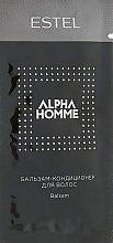 Духи, Парфюмерия, косметика Бальзам-кондиционер для волос - Estel Professional Alpha Homme Pro (пробник)