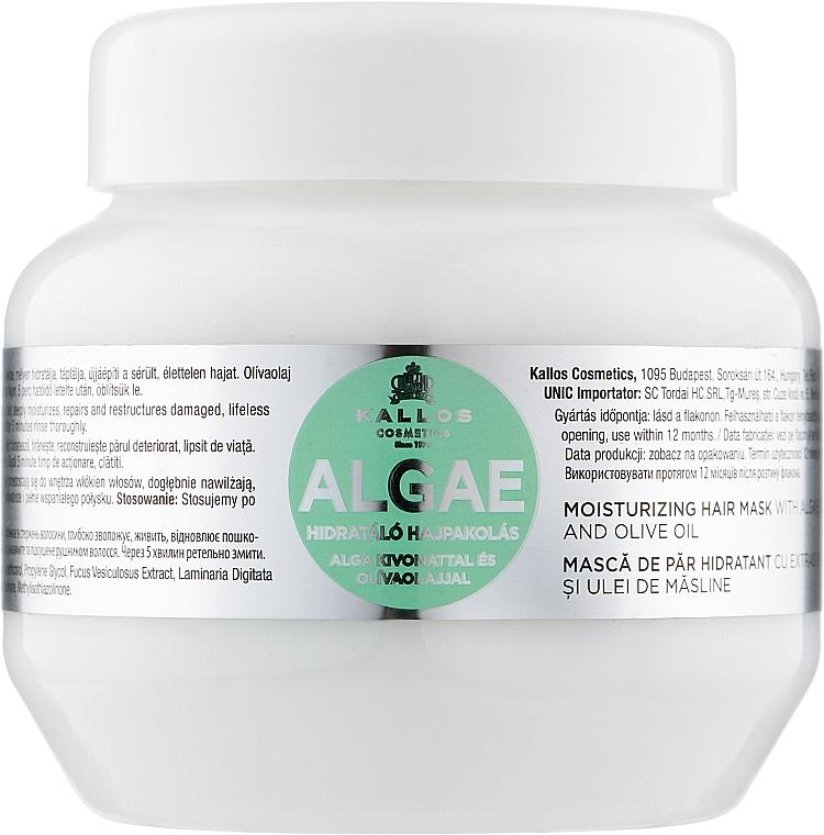 Маска для волос с экстрактом водоростей и оливкового масла - Kallos Cosmetics Algae Mask
