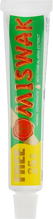 """Зубная паста """"Травяная"""" - Dabur Miswak"""