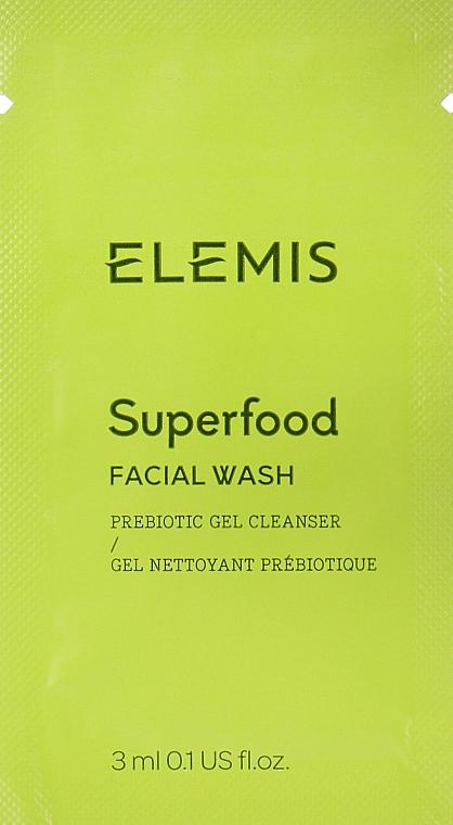 Гель для умывания с омега-комплексом - Elemis Superfood Facial Wash (пробник)