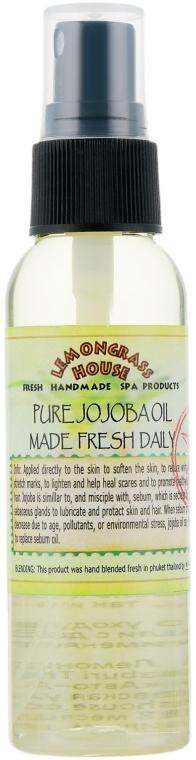 "Чистое масло ""Жожоба"" - Lemongrass House Pure Jojoba Oil Made Fresh Daily — фото N1"