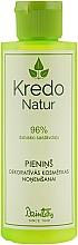 Духи, Парфюмерия, косметика Молочко для снятия макияжа - Dzintars Kredo Natur Makeup Remover Milk