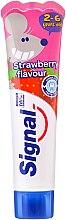 Духи, Парфюмерия, косметика Детская зубная паста со вкусом клубники - Signal Kids Toothpaste