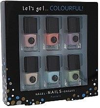 Духи, Парфюмерия, косметика Набор - Cosmetic 2K Let's Get Colourful! Pastels Nail Polish (nail/laquer/6х5ml)