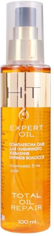 Масло для кончиков волос - Hair Trend Total Oil Repair