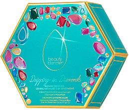Духи, Парфюмерия, косметика Набор - Beautyblender Dripping in Diamonds (sponge/2шт + cleaning/mini/2шт)