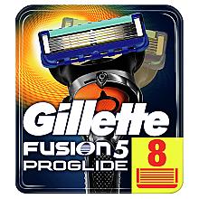 Парфумерія, косметика Змінні касети для гоління, 8 шт. - Gillette Fusion ProGlide