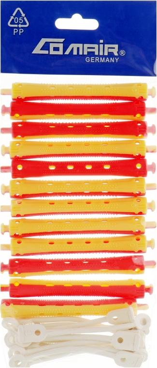 Бигуди для холодной завивки, жёлто-красные, d9 - Comair