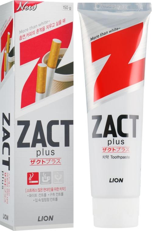 Зубная паста отбеливающая - CJ Lion Zact Lion