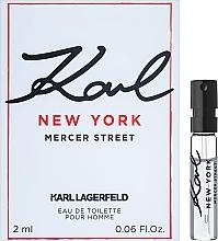 Духи, Парфюмерия, косметика Karl Lagerfeld New York - Туалетная вода (пробник)
